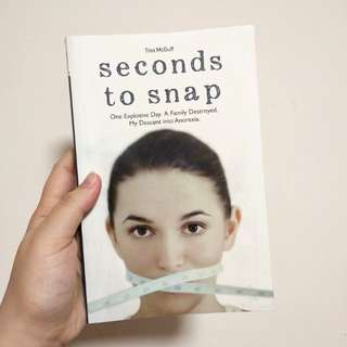 seconds to snap by Tina Mcguff