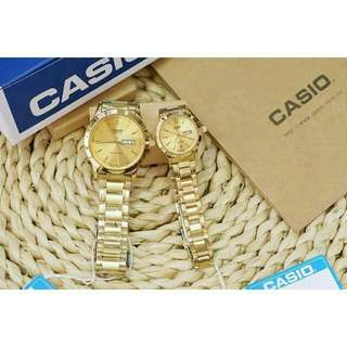 couples authentic casio watch