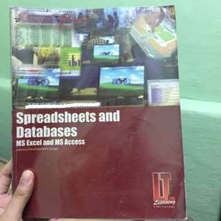 Spreadsheets and Databases Ms Excel and Ms Access