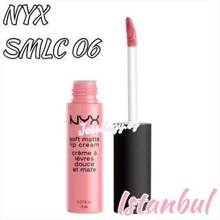 INSTOCK NYX Soft Matte Lip Cream in ISTANBUL - NYX Cosmetics SMLC 06 ISTANBUL