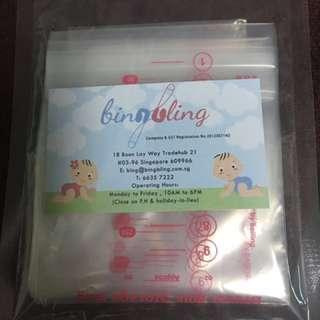 Brand New - Bambino Milk Storage Bags