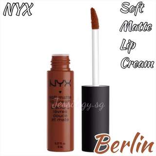 NEW INSTOCK NYX Soft Matte Lip Cream in BERLIN - NYX Cosmetics SMLC 23 Berlin