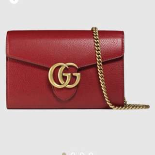Gucci chain wallet