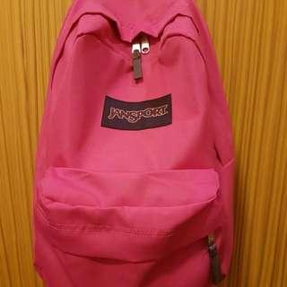 """JanSport Superbreak """"Plain Pink"""""""