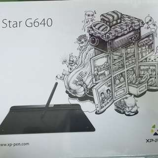 XP-PEN STAR G640繪圖板