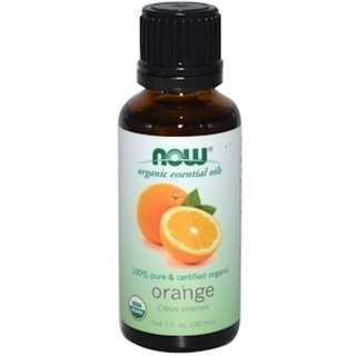 Now Foods, Organic Essential Oils, Orange, 1 fl oz (30 ml)