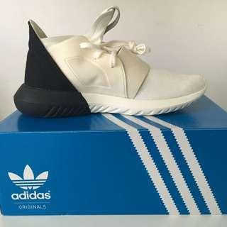Adidas Tubular Defiant Black White Shoes