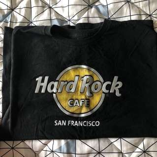 Hard rock tee men's fit small