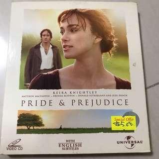 VCD - Pride & Prejudice