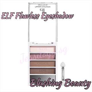 INSTOCK ELF Flawless Eyeshadow / ELF Cosmetics / e.l.f. Essential Flawless Eyeshadow in BLUSHING BEAUTY