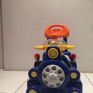 Chicco sit and Ride Train (Rare Items)