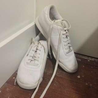 White Reebok Princess' Shoes