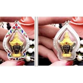龍婆馬哈蘇拉薩 四面神(正牌不用供奉,隨心帶上就可以)純銀外殻