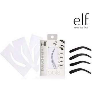 INSTOCK e.l.f. Eyebrow Stencil Kit Set / ELF Eyebrow Stencils / ELF Cosmetics Eye Brown Stencil Kit - Set of 4