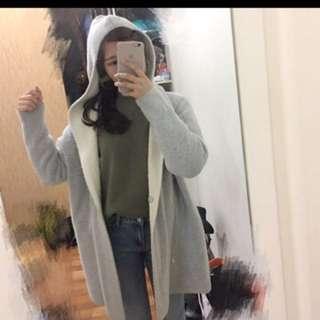 🚚 灰色 保暖外套