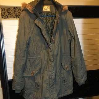 Army multi pocket jacket 多功能袋連帽軍裝外套