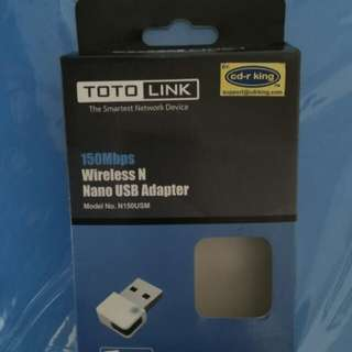 Toto Link Wireless N Nano USB Adapter