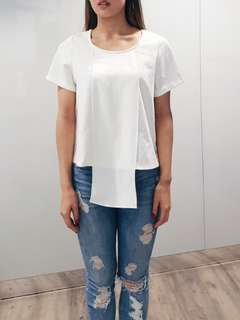 Off white cream blouse t-shirt