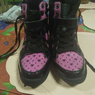 Barbie Wedge Rubber Shoes