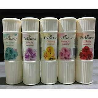 Authentic Enchanteur powder and lotion