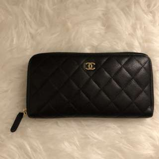Chanel zip-wallet