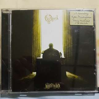 Opeth - Watershed Original CD