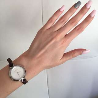 RIPCURL BROWN LEATHER WATCH