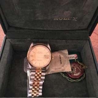 Rolex Mens Datejust Two-tone