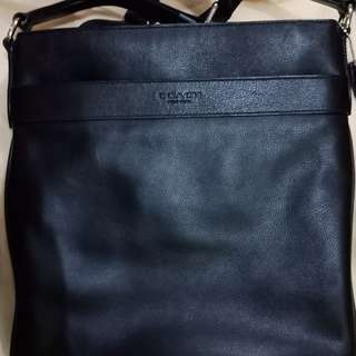 Coach leather bag authentic
