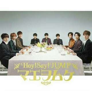 MAE WO MUKE HEY SAY JUMP LIMITED EDITION PREORDER (MARCH BATCH) EXTENDED