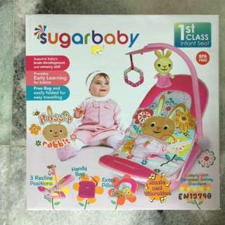 Fold Up Infant Seat Bouncer SUGARBABY