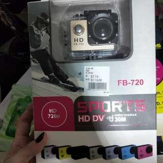 BN in box Sports camera HD DV water resistant 30m