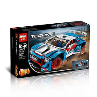 LEPIN 20077 Technic Rally Car