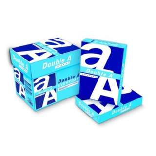 Double A 70gsm A4 printing paper