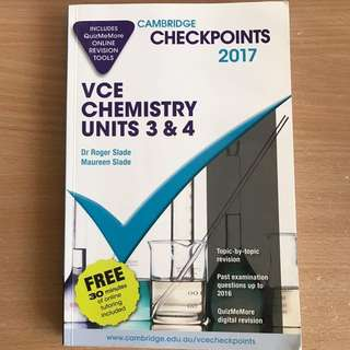 Chemistry checkpoints 2017