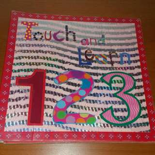 Touch And Learn 123 Book
