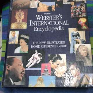 Webster encyclopedia and dictionary