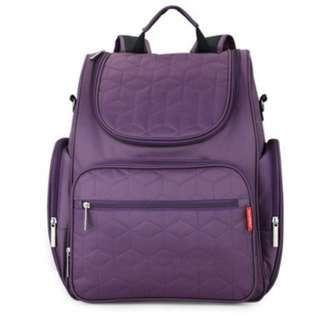 ❤On-hand: High-Quality Water Proof Big Capacity Mommy/ Nappy/ Nursing/ Baby Diaper Bag - purple