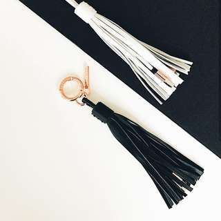 Casetify Leather Tassle Cable for iphone