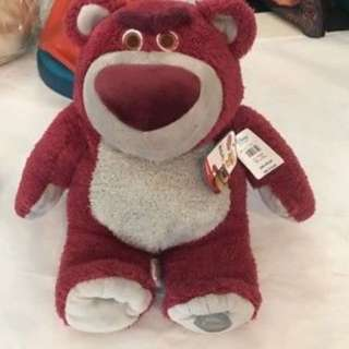 "Lotso Bear with Strawberry Scent 12"" - Valentine's Gift"