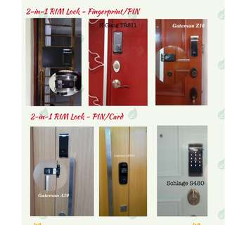 Special Deal for CNY - Smart Digital Door Lock for your DOOR from $280 ONLY with installation & warranty!!!