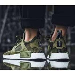 Adidas NMD XR1 Olive Green Primeknit