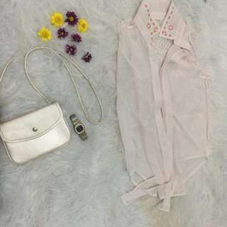 White Blaizer
