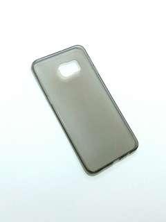 Samsung Note 5 Edge 透明灰軟膠殼 flexible plastic phone case