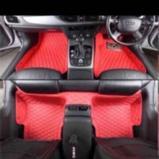 Customized Interior Mat - Quilt Design