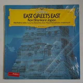 Ravi Shankar original LP record sitar