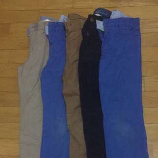 Boys Trousers Bundle 5-6 Years
