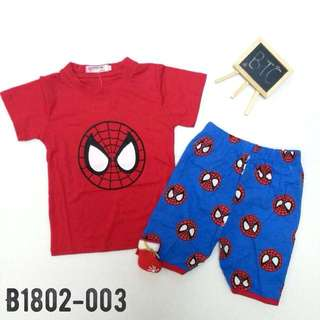 [READY STOCK]  🌸 Spider-Man Set Wear
