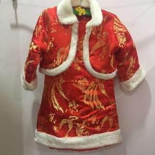 Chinese New Year cheongsam 旗袍 qipao