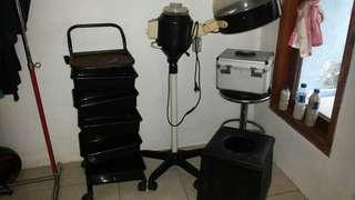 Alat salon .steammer wajah dll..
